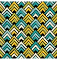 Hand drawn seamless colorful pattern vector image vector image