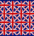 British seamless pattern vector image