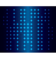 abstract background with blue neon lights vector image