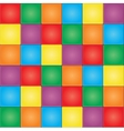 Seamless colorful mosaic tiles pattern vector image