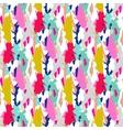 Acrylic paint brush stroke seamless pattern vector image