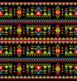 navajo weaving fashion seamless pattern vector image