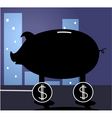 business pig vector image vector image