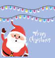 christmas celebration event with decoration design vector image