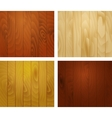 Wooden texture planks vector image