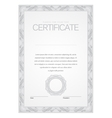 Certificate Modern Template diplomas currency vector image