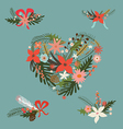Festive floral compositions vector image