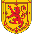 Scotland Coat-of-Arms vector image