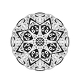 Golden Mandala Floral ethnic abstract decorative vector image vector image