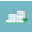 City Hospital Building vector image