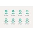 Ecological Logos vector image