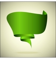 banner for the text green vector image