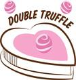 Double Truffle vector image