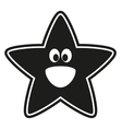 star stencil to the nursery vector image vector image