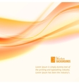 Abstract business orange lines vector image vector image
