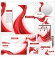 Business templates vector image