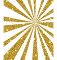 background with golden rays vector image vector image