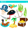 golden age pirate adventures toy vector image