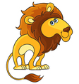 Lion Cartoon african wild animal character vector image