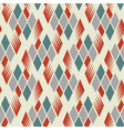 retro diamond repeat pattern 1 vector image vector image