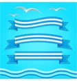 banner set Ribbons collection vector image vector image