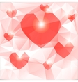 The mood of love vector image