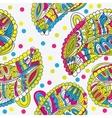 Vintage decorative ornamental seamless pattern vector image