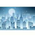 Cityscape with Skyscraper vector image