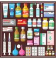 Seth medicines vector image