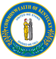 Commonwealth of Kentucky vector image