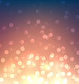 Sunset defocused background vector image
