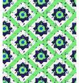 Grunge colorful geometric seamless pattern vector image