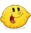 Lemon Cartoon Character vector image
