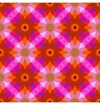 Pattern with geometric shapes in style 1970 vector image