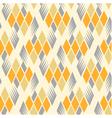 retro diamond repeat pattern 3 vector image