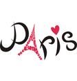 Paris vector image