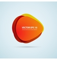 color background abstract circles vector image