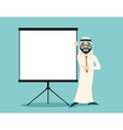 Vintage Successful Arab Businessman Traditional vector image