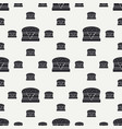 abstract seamless background pattern in hipster vector image