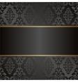 velvet black background vector image vector image