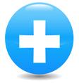Diagnostics button vector image