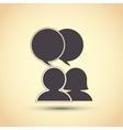 Communication design editable graphic vector image