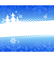 Christmas abstract background vector image