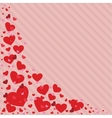Valentines Day heart in vector image