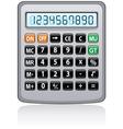calculator vector image vector image