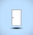 Door icon vector image