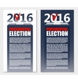 American Election 2016 background Poster or vector image