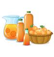 Juice drink vector image