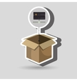 box data base hardware vector image