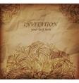 Invitanion card vector image vector image